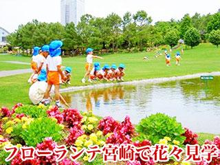 フローランテ宮崎での花々見学